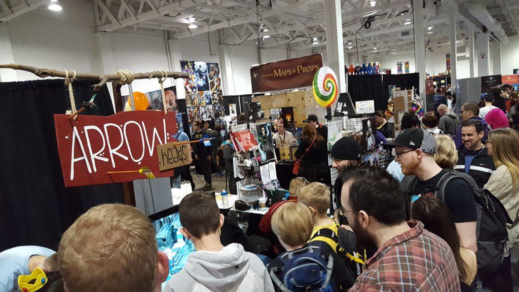 Oddbird team members promoting their online steam video game Arrow Heads